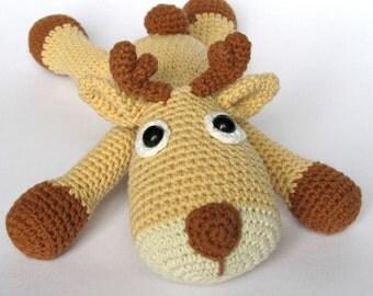 Ravelry: Bucky the Stuffed Moose Head pattern by sharon maher
