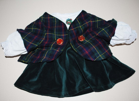 Alice Vanderbear Wear Highland Scottish Fling outfit