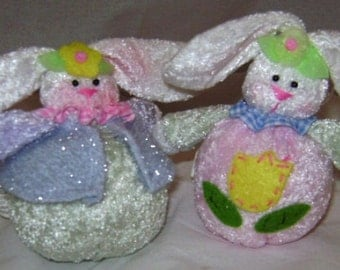 Rolly Polly Easter Bunnies