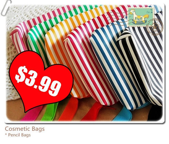 SALE 6 colors ( pick one ) Ouch Ouch Pouch, Make up bag, cosmetic bag, first aid bag, diaper bag organizer