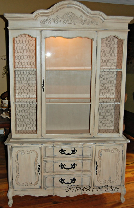 french provincial china cabinet items similar to sold provincial china cabinet on 15644