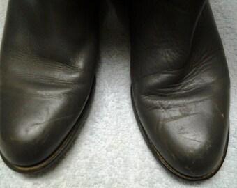 Vintage roper cowboy boots