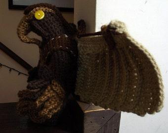 Songbird, a Handmade Crochet Doll