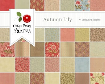 Autumn Lily Jelly Roll by Blackbird Designs for Moda - One Jelly Roll - 2740JR