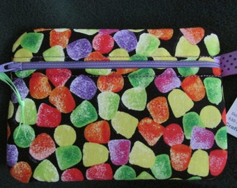 Gumdrop Candy Fabric Cosmetic/Phone/Padded Case