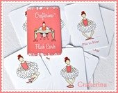 PDF Printable Ballet Flashcards - DIY Craft Kit - Party Favor- Educational Child Toy - Play & Pretend