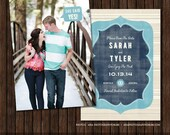 INSTANT Download PSD 5x7 Save the Date Card Template - S20