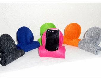 FELT mobile phone holder, phone seat, charging station