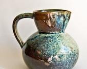 Danish Studio Pottery, Thyssen Keramik, Blue Stoneware Jug