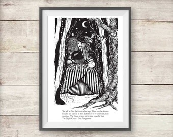 The Night Circus Isobel Print