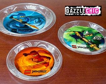 Ninjago Party Plate Bottoms printables