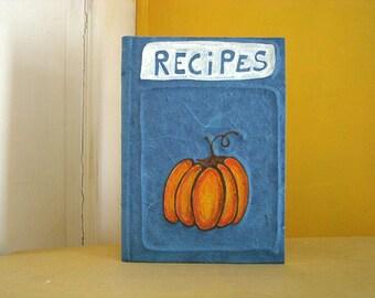 pumpkin recipe book handmade in italy