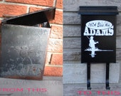 Hunter / Fisherman Mailbox Decal