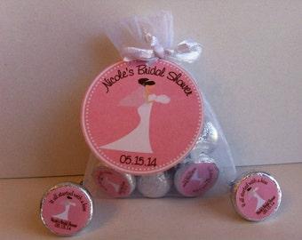 Bridal Shower Favor Bag Set - Bridal Shower Favors - Wedding Shower Favors