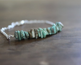 Magnesite Stacking Bracelet