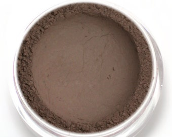 """Taupe Matte Eyeshadow - """"Skylark"""" - Grey Brown Vegan Mineral Eyeshadow Net Wt 2g Mineral Makeup Eye Color Pigment"""