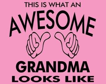 Grandma Shirt Nanna Tshirt Promoted to Grandparent New Baby Birth Announcement 2XL  Ladies Large Womens XL Tshirt Sibling Surprise L Oma