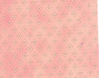 Clearance-Lulu  Dainty Blush 16115 11 by Chez Moi from Moda-Last 33 inches