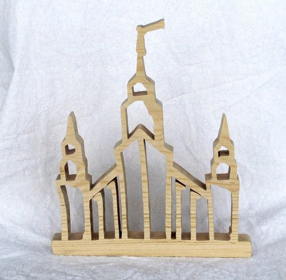 Home Decor Stores Portland Oregon: Items Similar To Portland, Oregon LDS Temple Wood Cutout