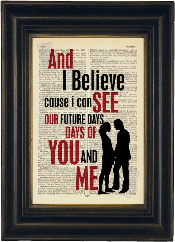 Pearl Jam Future Days : pearl jam future days lyric print on repurposed by forgottenpages ~ Russianpoet.info Haus und Dekorationen
