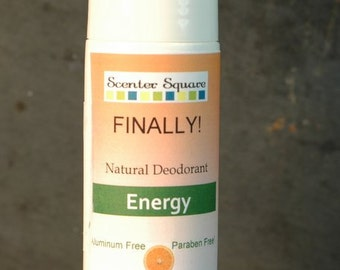 Finally! A Natural Deodorant that actually works - Roll-On Energy Citrus Scent