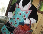 Full Adult Oilcloth Apron
