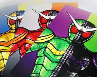 Kamen Rider Double Complete Pack 11x17 Posters