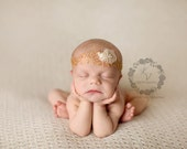 Gracie-Beautiful Shimmery Gold and Cream Tie Back