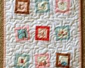 Doll Quilt - Wonky Charms