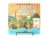 Advanced French Vinyl Language Course - 20 Lessons on 2 Hi-Fi 33.3 RPM Records