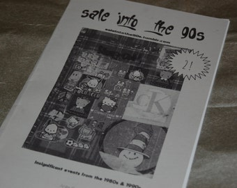 Sale Into the 90s 2 -- A history Zine about insignificant events of the 1980s and 1990s