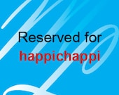 Reserved for happichappi - 2 butterfly curtain ties