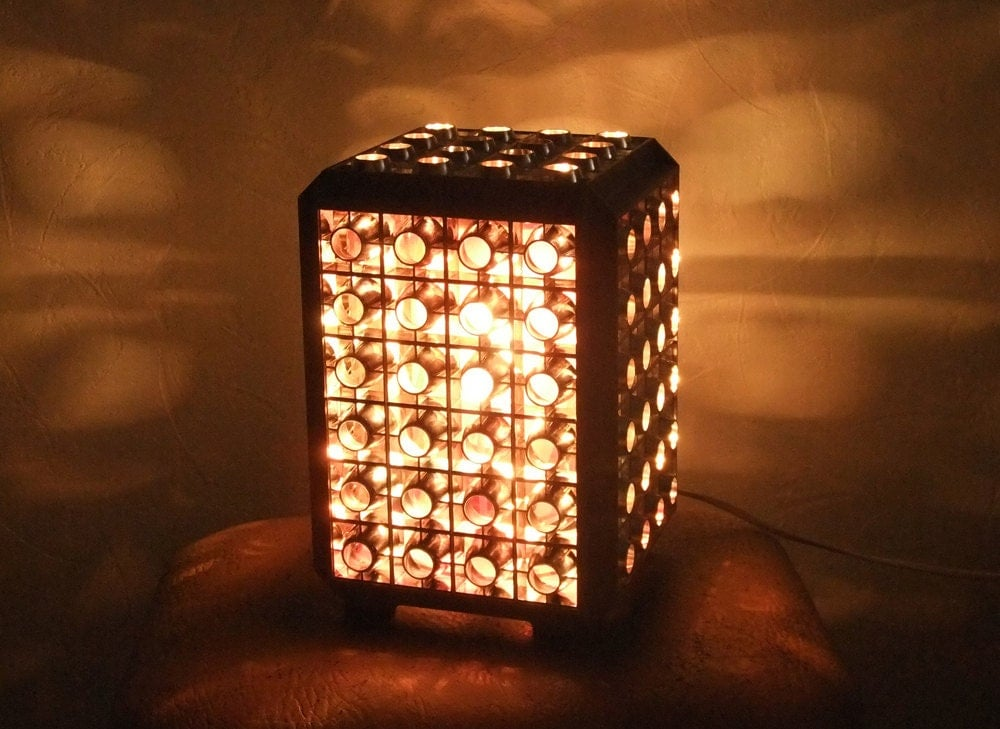 Vintage night lamp with moving lights bedroom disco lamp for Bedroom night light