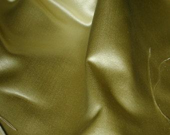 "No. 400 Beautiful Italian LEMON Silk Satin Fabric; 4 Yards 12"" X 50"" (SOLD by the 1/2 YARD)"