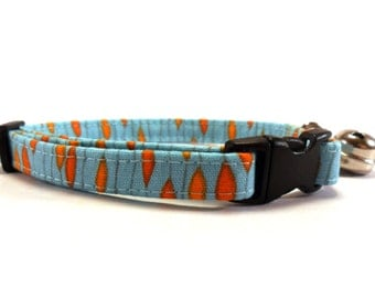 Cat Collar, Small Dog Collar, Pluvia