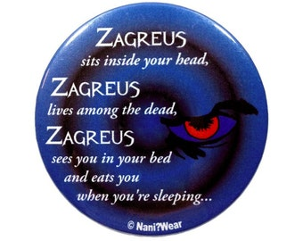 8th Doctor 2-Inch Button Zagreus