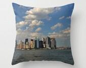 Photo pillow cover of Manhattan skyline