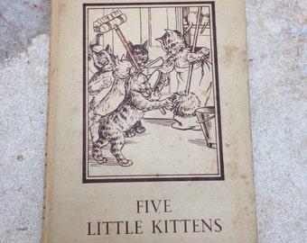 Five Little Kittens by AJ MacGregor Ladybird