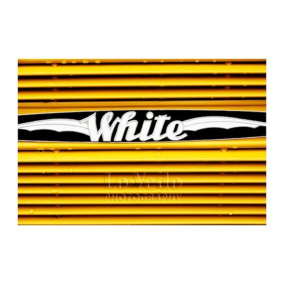 Yellowstone Photo, Vintage Yellow Bus, National Park, Art Deco, Summer Nostalgia, Bold Home Decor