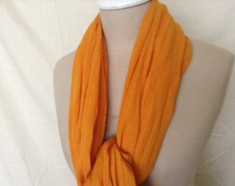 Tuareg Scarf also called Nomad Scarf - Orange