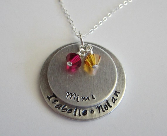 mimi necklace personalized custom name necklace gift for