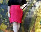 Snapdragon pencil skirt: Plus size PDF sewing pattern