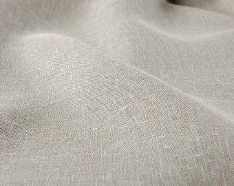High quality linen fabric, gray linen textile, supply, linen material