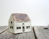 Ceramic Sculpture   Cottage  Summer Decor