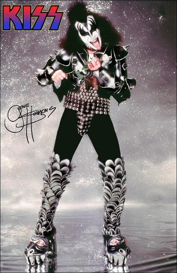 KISS Gene Simmons 1976 Destroyer Era Standup Display