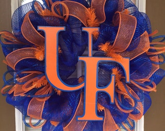 Florida Gators door wreath