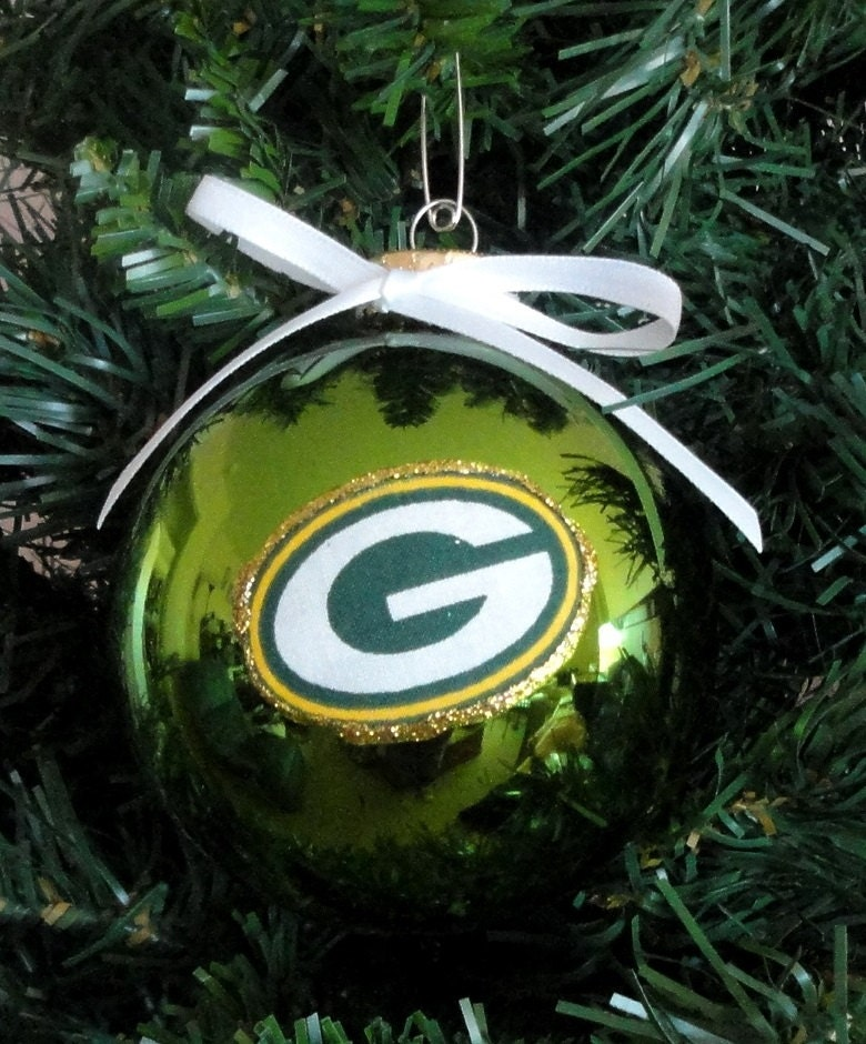 nfl green bay packers christmas ornaments - Green Bay Packers Christmas Ornaments