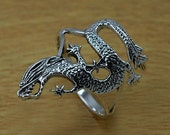 Dragon Ring, Dragon Band Ring, 925 Dragon Ring, Sterling Silver Ring, Silver Dragon Ring, Sterling Dragon Ring, Plain Dragon ring