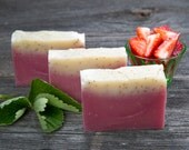 Irish Soap - Wexford Strawberry Soap - Strawberry scented handmade Soap - Irish gift Soap