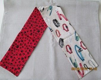 Dog leashes print scarf for dogs or people
